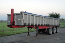 Aggregate Tipper available from B.J.Clarke Haulage Contractors in Wrexham & Chester