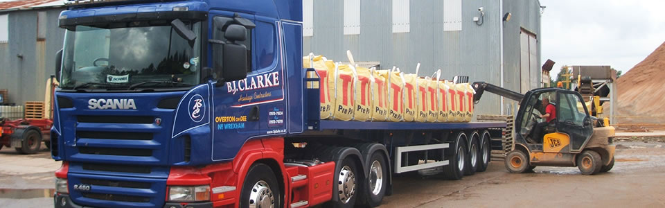 Haulage Vehicles available from B.J.Clarke in Wrexham & Chester