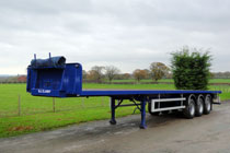 Flatbed Trailer available from B.J.Clarke Haulage Contractors in Wrexham & Chester