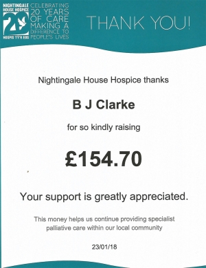 Nightingale House Hospice Donation