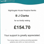 Nightingale House Hospice Donation