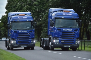 Two new Scanias delivered